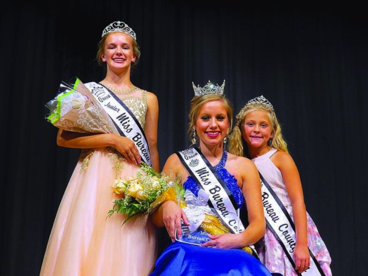 Bureau County Fair 2020.Bureau County Fair Queens Crowned Bureau County